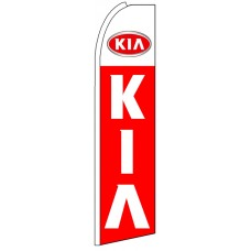 Kia - Advertising Feather Flag Banner