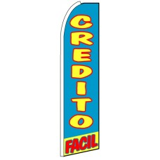 Credito Facil - Advertising Feather Flag Banner